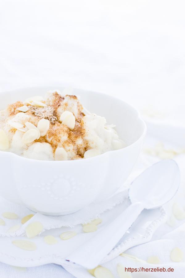 Marzipan-Milchreis Rezept