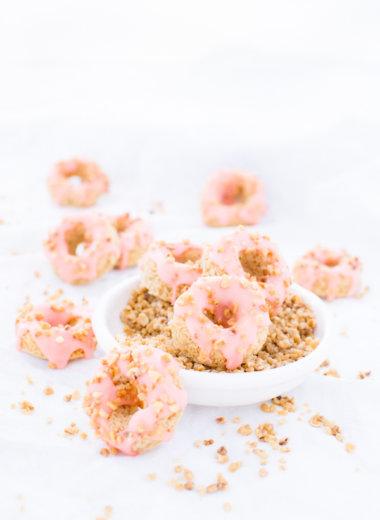 Mini Donuts - Das Rezept von herzelieb lässt sich gut abwandeln