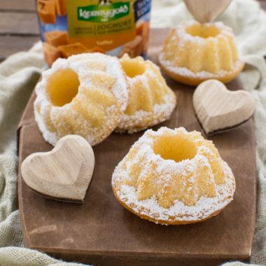 Leckere Mini-Gugelhupfe nach einem Rezept von herzelieb mit Toffee Joghurt