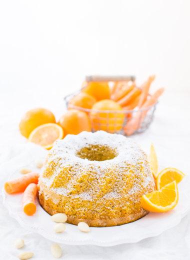 Orangen-Karottenkuchen Rezept von herzelieb