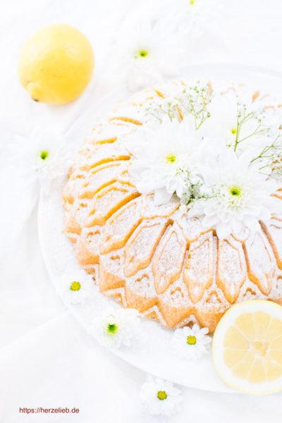 Grießkuchen – Rezept für die Zitronenliebhaber-Version!