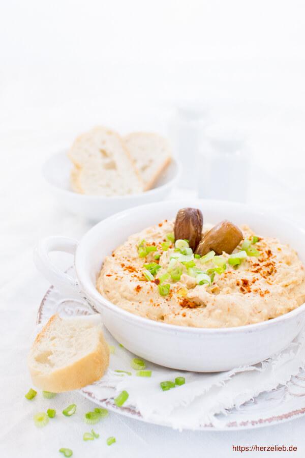 Dattel Dip Rezept Zum Brot Und Grillen Einfach Super Herzelieb