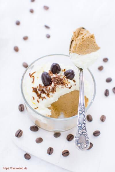 Kaffee Creme Dessert herrlich fluffig