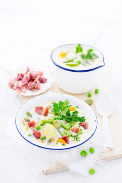 Schnüsch, Snysk oder Schnüüsch - Rezept für einen nordischen Sommereintopf