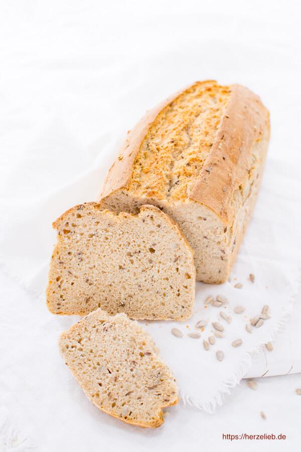 Weizen-Vollkornbrot ganz einfach, leicht und ohne Sauerteig
