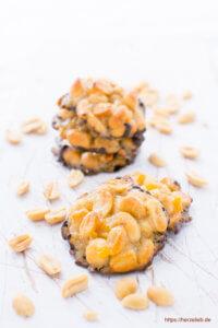 Erdnuss-Küsschen Rezept für ein kleines Stückchen Glück