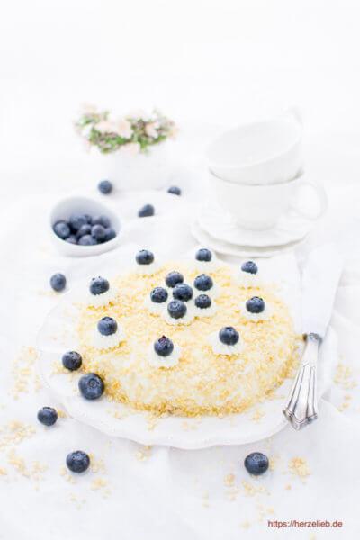 Der wohl einfachste Quarkkuchen der Welt! Rezept - herzelieb