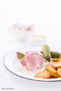 Sauerfleisch Holsteiner Art - Rezept von herzelieb