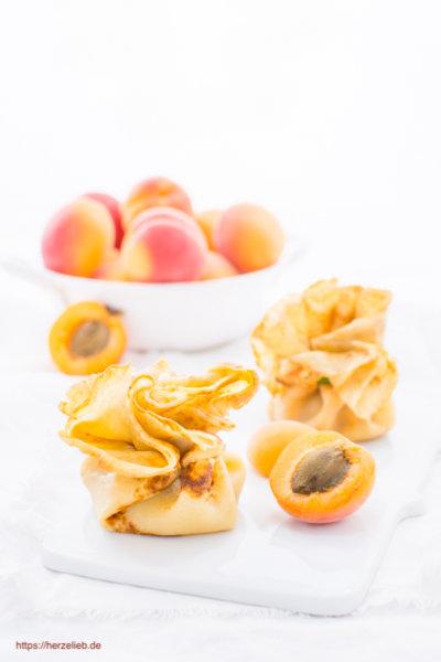Aprikosen Dessert - Aprikosen-äckchen