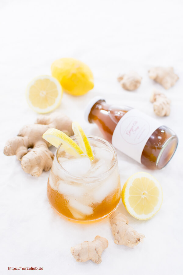 Ginger Ale Sirup – Rezept für eine erfrischende Getränkegrundlage