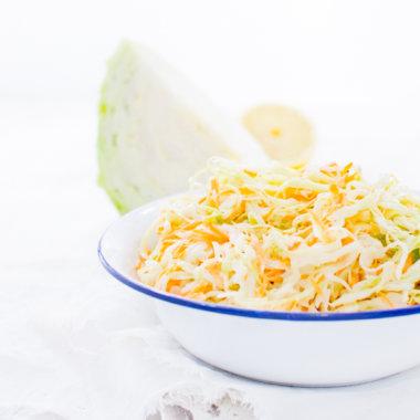 Rezept für Krautsalat - cremig, knackig und lecker