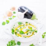 Einfaches Rezept für einen Auberginen Dip von herzelieb