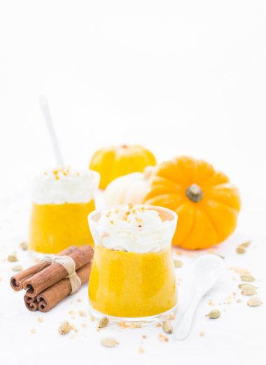 Kürbis Pudding - Dessert für den Herbst von herzelieb