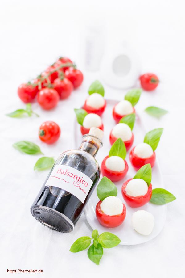 Balsamico Creme - schmeckt zu Salat, darf aber auch an keiner guten Soße fehlen!