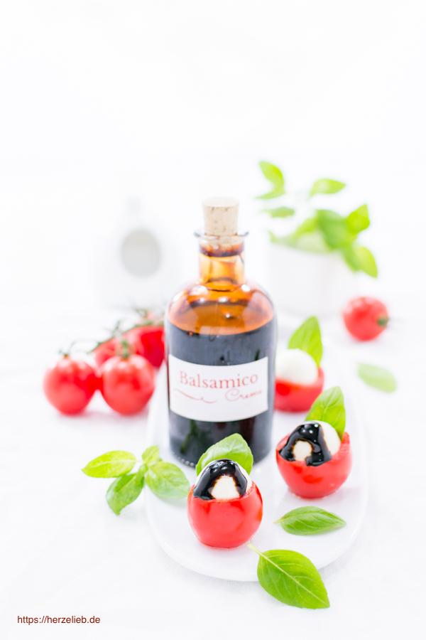 Balsamico Creme selber machen - Rezept von herzelieb