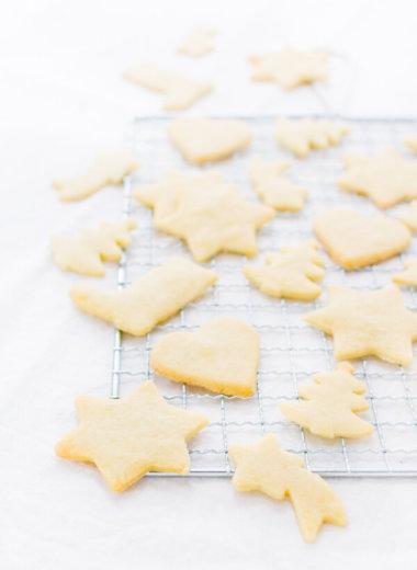 Butterkekse zum Ausstechen - Rezept von herzelieb