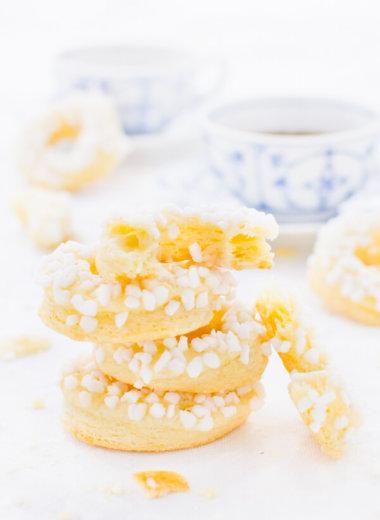 Herrenkringel - Kekse Rezept mit nur 4 Zutaten von herzelieb