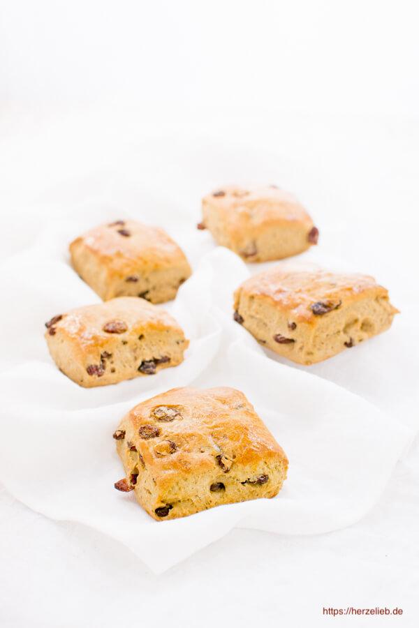 Kneppkuchen mit Anis und Rosinen - Rezept von herzelieb