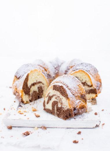 Marmorkuchen Gugelhupf Rezept von herzelieb - saftig und lecker