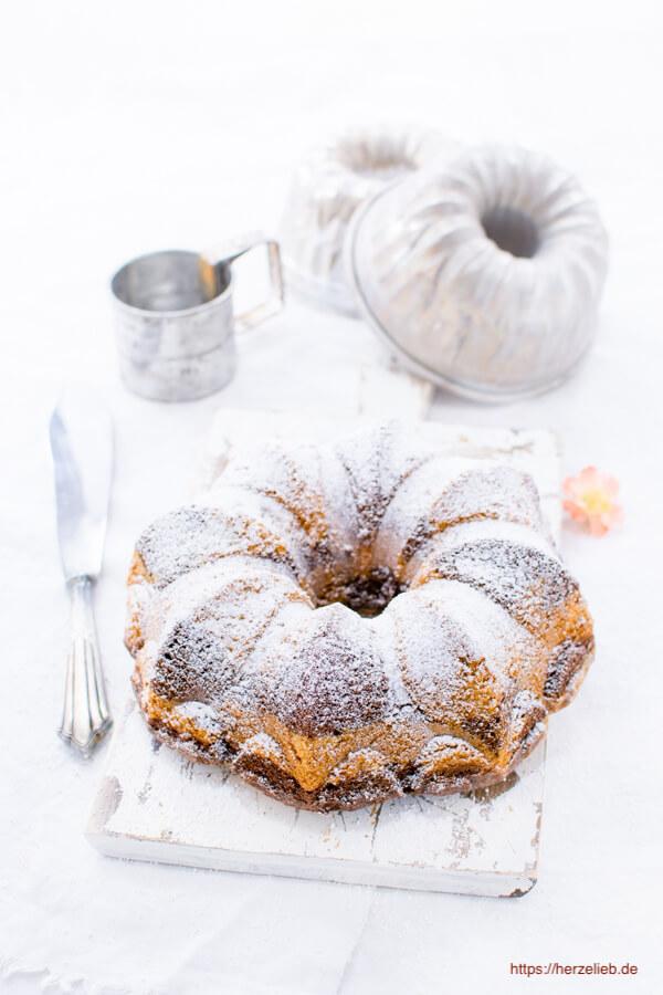 Marmorkuchen Gugelhupf Rezept von herzelieb
