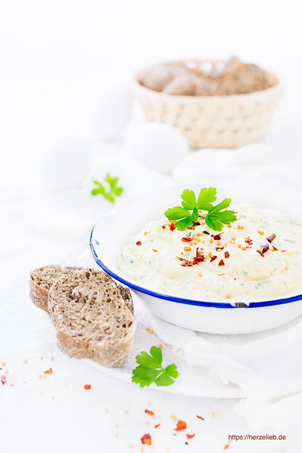 Eier-Senf-Creme Rezept – Brotaufstrich und Dip
