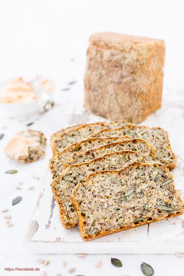 Eiweißbrot Rezept ohne Mehl Low Carb