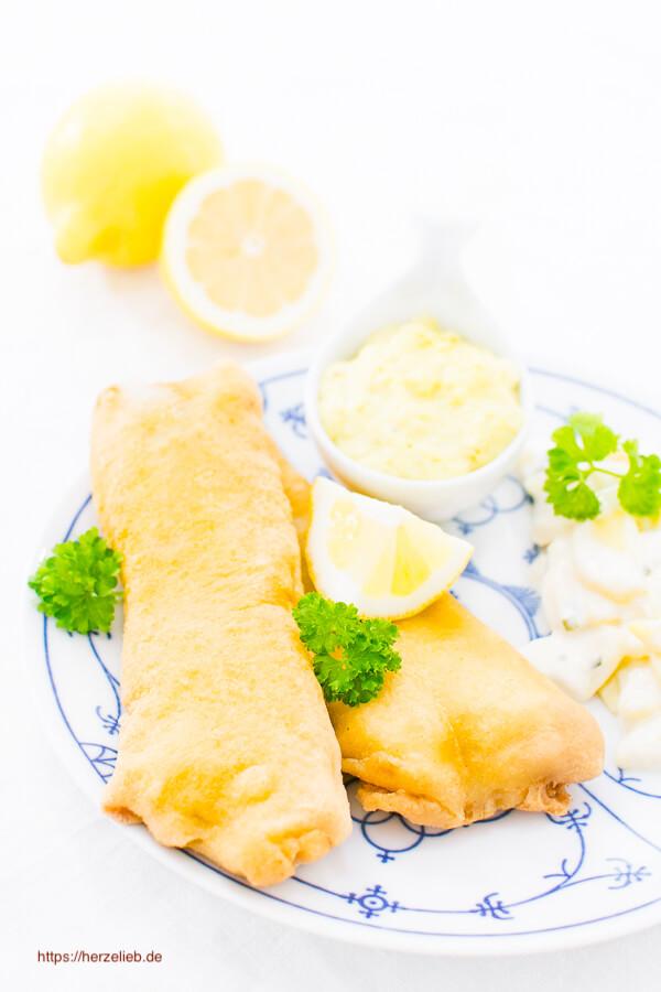 Rezept für Backfisch von herzelieb mit Kartoffelsalat