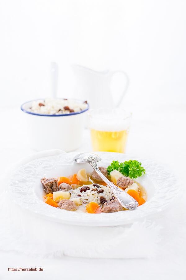 Rindfleischsuppe oder Frische Suppe Rezept
