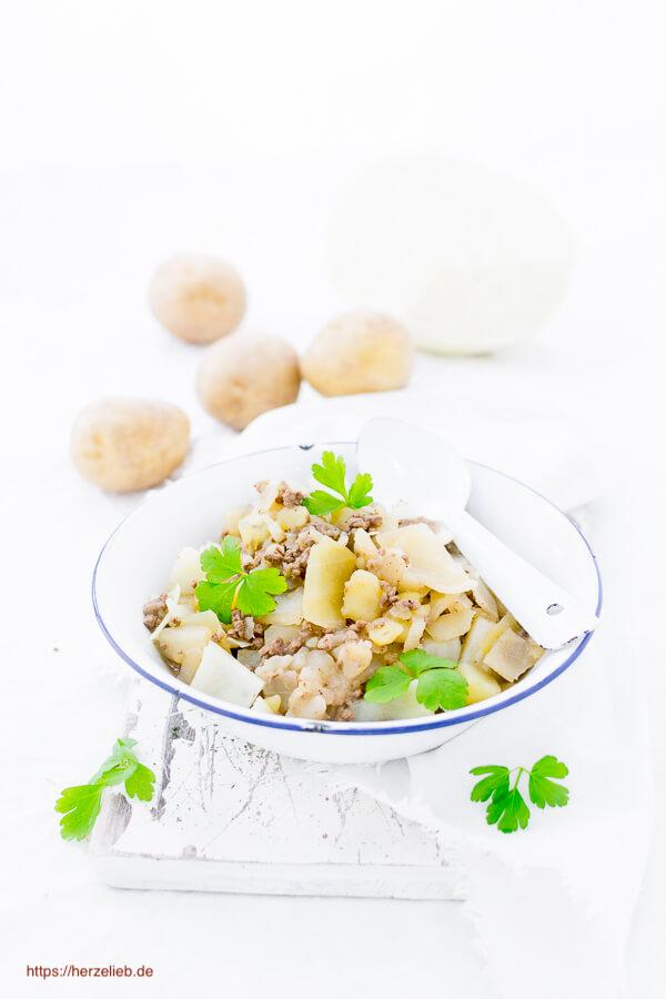 Weißkohl Eintopf - Rezept von herzelieb