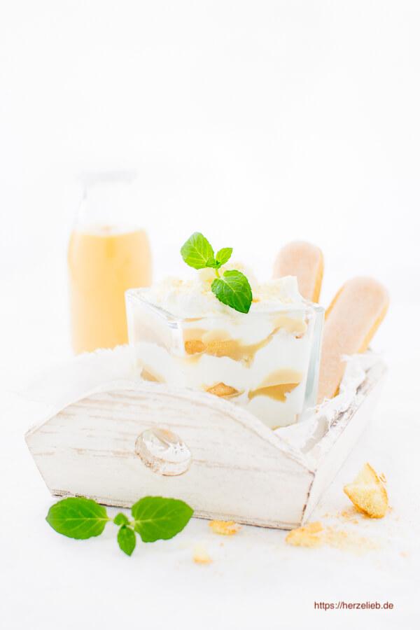 Apfel-Eierlikör-Tiramisu - Nachtisch oder Dessert Rezept