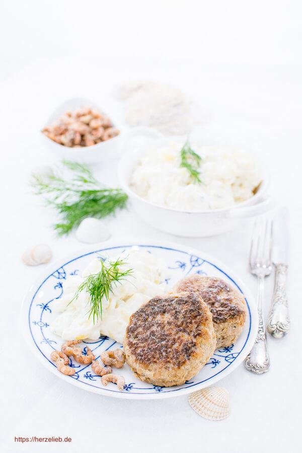 Orignal von der Nordsee - Krabbenfrikadellen Rezept