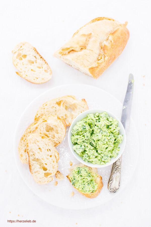 Rezept Bärlauch Parmesan Brotaufstrich