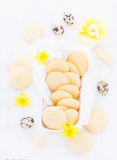 Eierplätzchen Rezept goldgelb