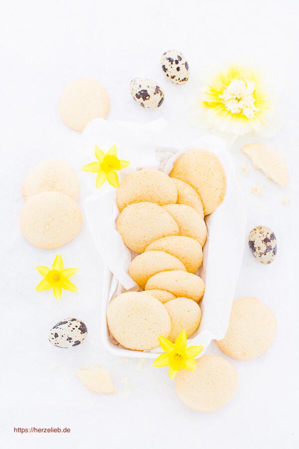 Eierplätzchen – superschnelles Rezept für Kekse