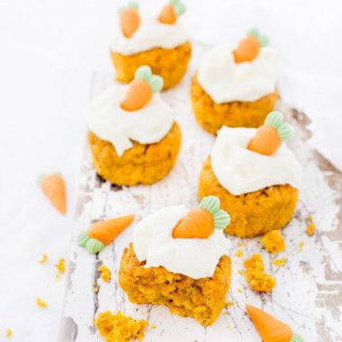 Möhrenkuchen Muffins Karottenkuchen Rezept