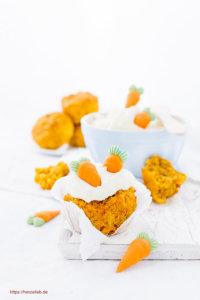 Möhrenkuchen Rezept Karottenkuchen Muffin