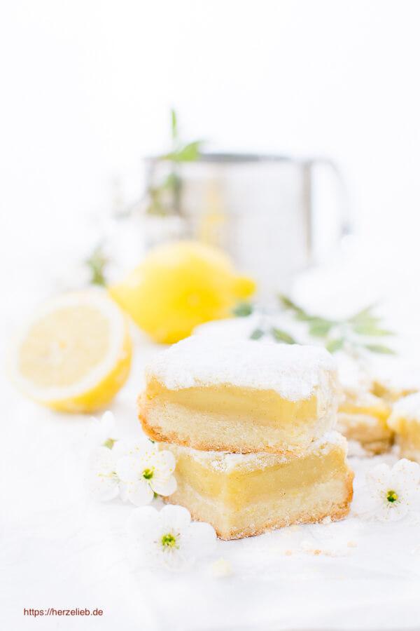 Zitronenkuchen aufgeschnitten Rezept