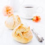 Dinkel-Kartoffelbrötchen selbstgebacken
