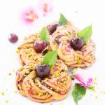 Kirsch-Kringel - Rezept für kleine Kirschkuchen
