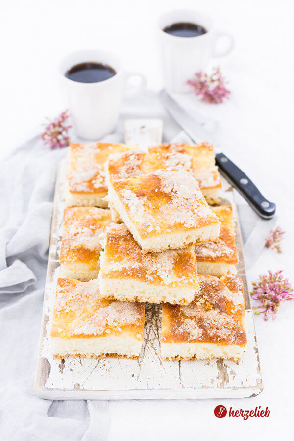 Zuckerkuchen Rezept Blechkuchen
