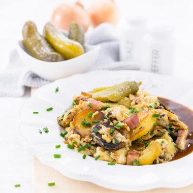 Bauernfrühstück mit Gurken Rezept