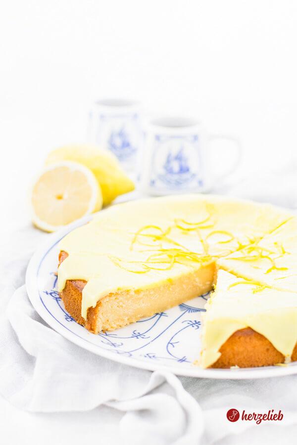 Citronmåne Rezept  - Zitronenmond oder Zitronenkuchen