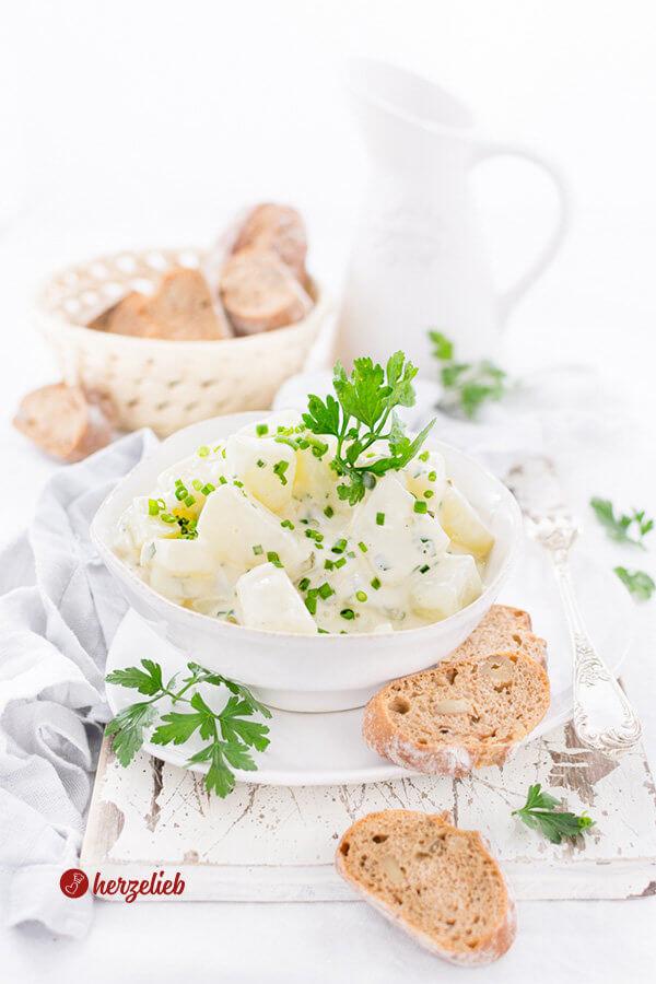 Kohlrabi-Salat - ein falscher Kartoffelsalat