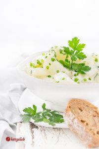 Kohlrabi-Salat Rezept - vegetarisch gut!
