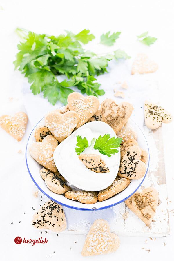 Rezept für Vollkorn-Brotkekse von herzelieb