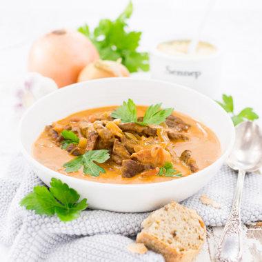 Rouladensuppe - der Geschmack von Rinderrouladen