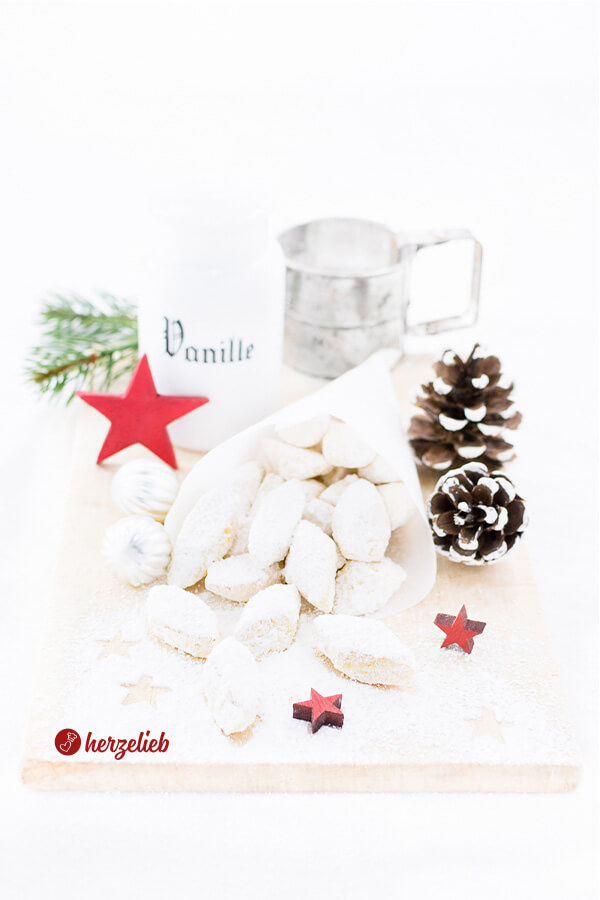 Traumstücke Plätzchen oder Kekse zu Weihnachten