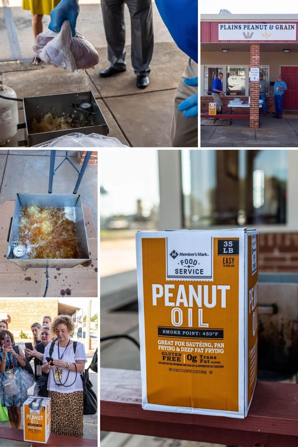 Fritierter Truthahnschenkel Peanut APC