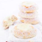 Skoleboller mit Puddingfüllung und Kokos aus Norwegen von herzelieb