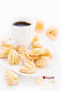 Blätterteigkekse ganz einfaches Fingerfood!